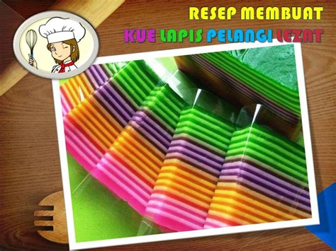 membuat bolu kukus warna warni resep dan cara membuat kue lapis pelangi enak dan kenyal