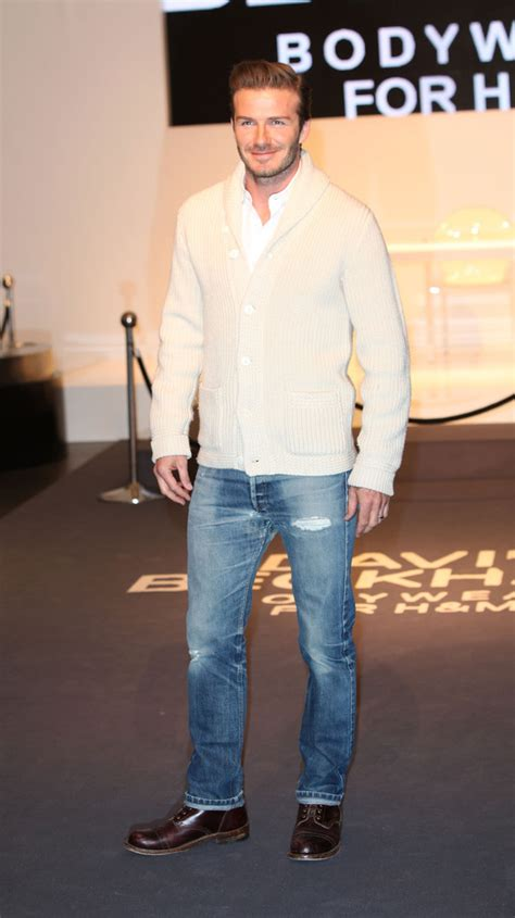 Beckham Launches Style Website by David Beckham Photos Photos David Beckham Launches