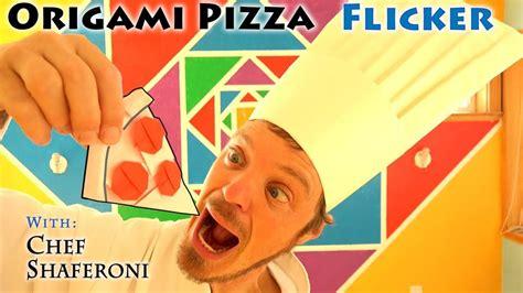Origami Pizza - origami pizza flicker