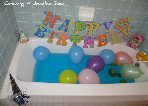 turning bath time into party time growing a jeweled rose