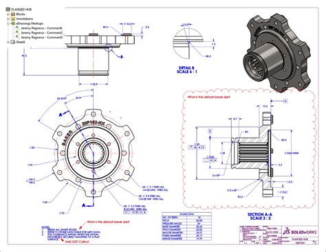 solidworks tutorial assembly drawing sending edrawings callouts to solidworks drawings youtube