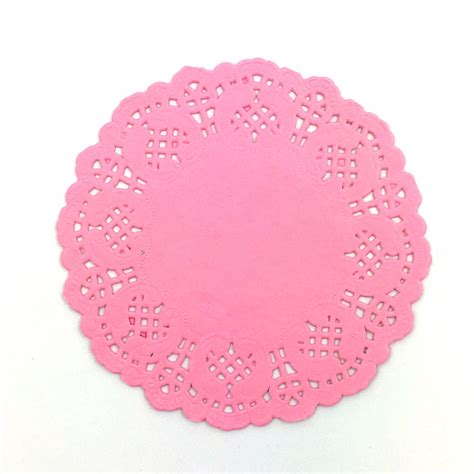 colored paper doilies buy wholesale pink doilies from china pink doilies