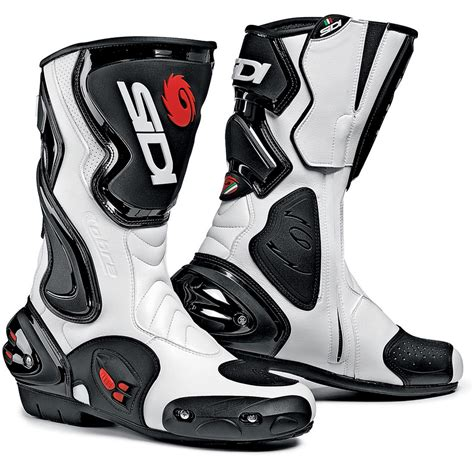 mens motorcycle racing boots sidi cobra boots white black 163 30 free spend free uk