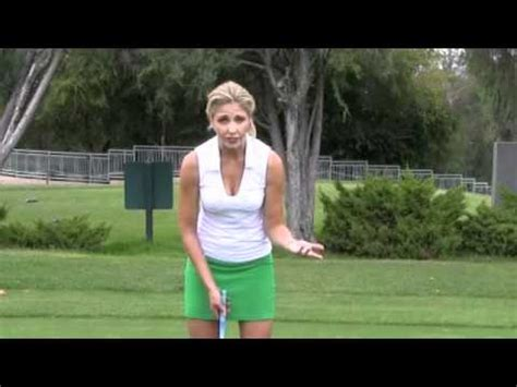 hooters girl golf swing long distance putting drill youtube