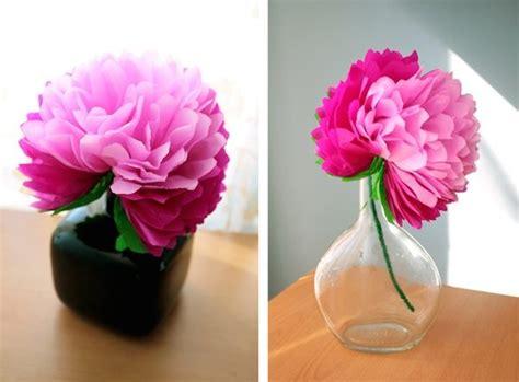 floreros para una flor c 243 mo hacer una flor de papel muy f 225 cil pequeocio