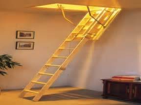 pull down attic stairs design offering practical use