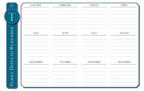 event calendar template premium