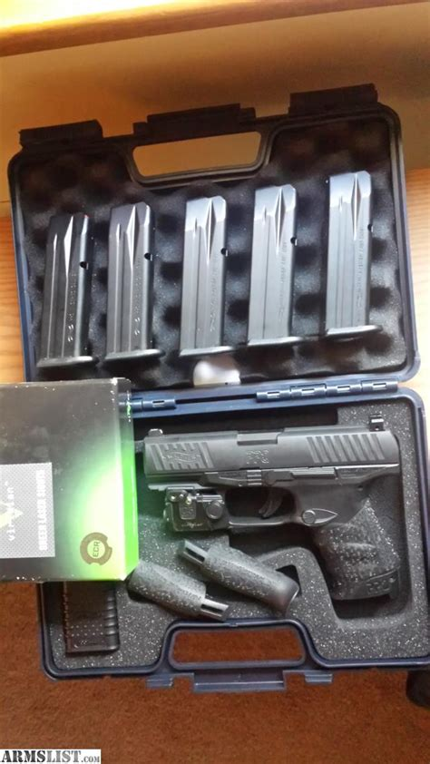 walther ppq laser light armslist for sale trade walther ppq viridian light laser