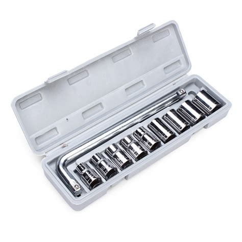 Dijamin Socket Wrench Set 10 Pcs Kenmaster buy 10pcs automobile repair 1 2 socket wrench spanner set bazaargadgets