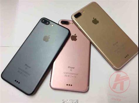 iphone 7 plus 到底有哪些顏色 這張圖說明一切 自由電子報 3c科技
