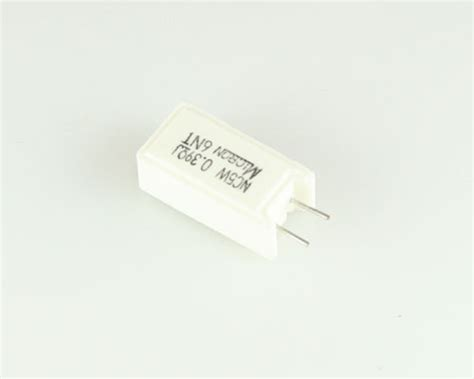 micron power resistors mns05nr39jn micron resistor 0 39 ohm 5w 5 sand 2021009362