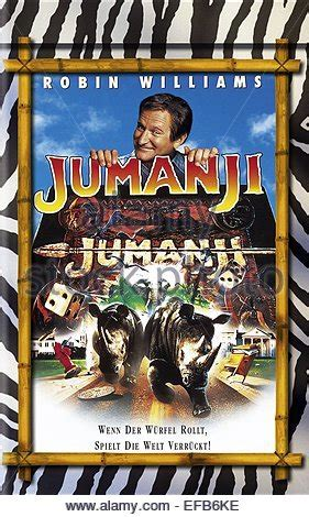 jumanji film poster film poster jumanji 1995 stock photo 31069120 alamy