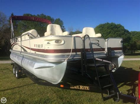 how good are bennington pontoon boats 2008 used bennington 2275 pontoon boat for sale 20 999