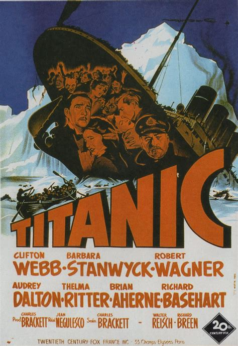Titanic 1953 Film Titanic 1953 Movie