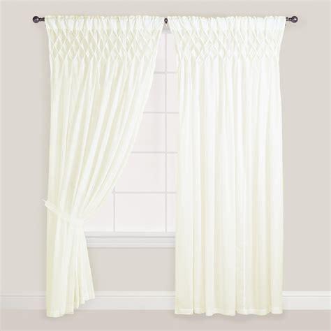 white cotton voile curtains 42x108 2 piece set cotton voile designer white curtain
