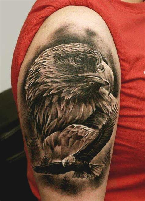 tattoo eagle realistic 50 amazing perfectly place eagle tattoos designs with meaning