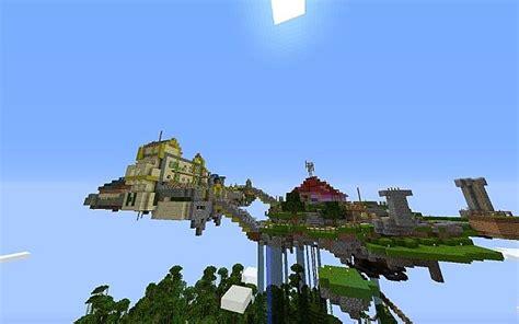 legend of zelda custom map minecraft skyloft zelda skyward sword map minecraft project