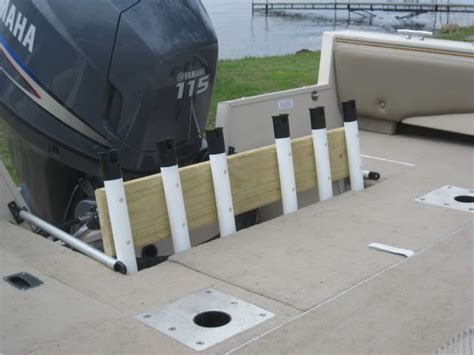 make boat umbrella holder do you want to know how to make a fishing rod holders for