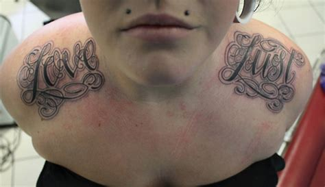 lust tattoo 59 gorgeous lettering shoulder tattoos