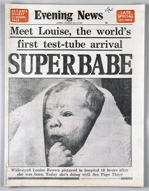 test baby test baby 1978 photograph by granger