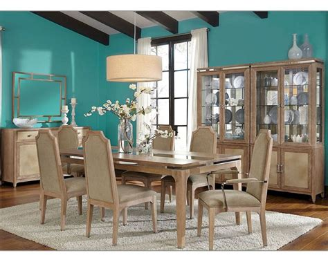 aico dining room sets aico dining room set biscayne west in sand finish ai 80000
