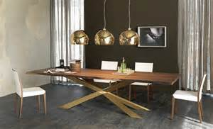 Designing A Dining Table by Dining Table With Irregular Solid Wood Edges By Cattelan