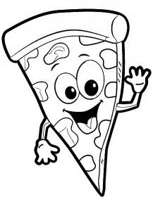 Coloring Page Pizza pizza coloring activities coloring pages