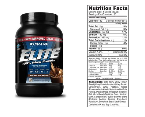 Elite Whey Dymatize dymatize elite whey protein 2lb aa sports nutrition