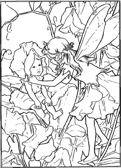 elf and a baby jpg 643 215 893 pixels faerie coloring pages