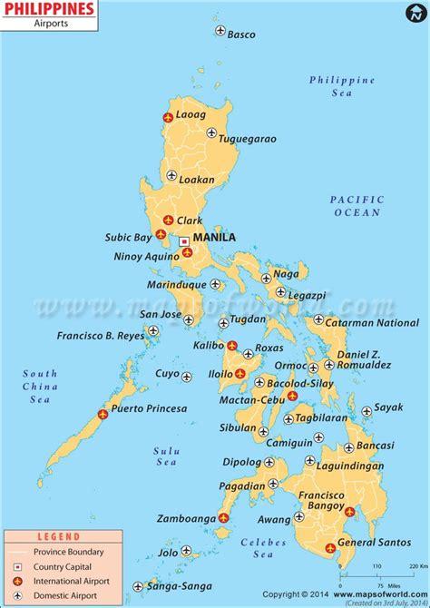 airport map  philippines lynco phillipines travel