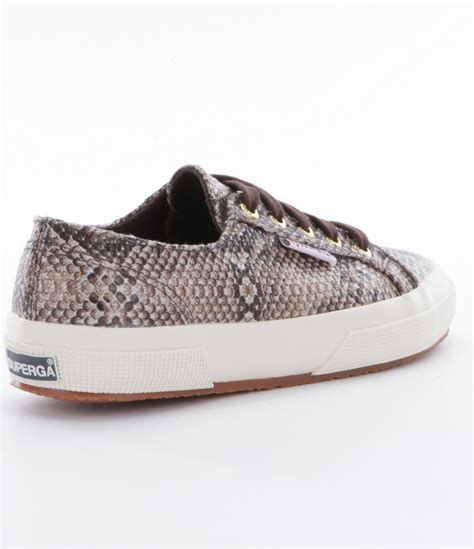 womens sneaker lyst superga womens 2750 cotusnakew sneakers in gray