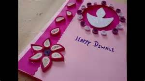 diwali greeting card idea with paper quilling