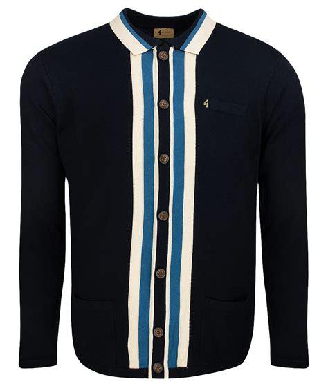 Stripe Cardigan gabicci vintage navy stripe front cardigan modfellas