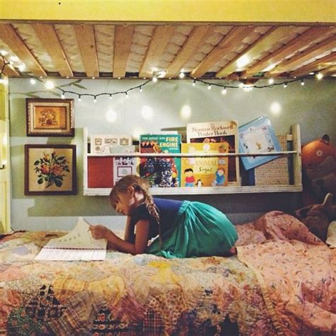 Bunk Bed Lighting Ideas Lights The Bunk Bed Wall Paint That Bookshelf So Much Yes For The Home