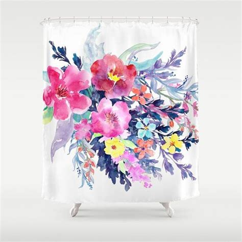 vibrant shower curtains 25 best ideas about navy blue shower curtain on pinterest