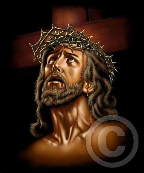 imagenes de jesucristo agonizante divino rostro by cesar azcona artwanted com