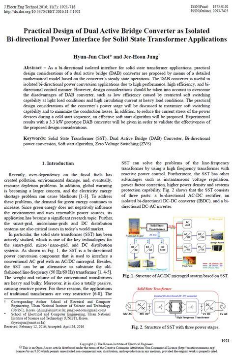 application design journal publication jeet practical design of dual active bridge converter as