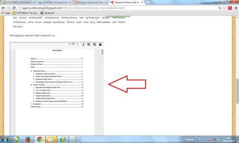 tutorial membuat blog pdf agama dan teknologi tutorial menyisipkan file pdf di