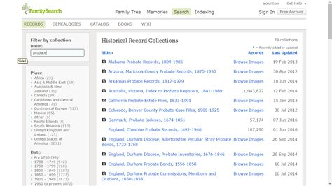 Are Probate Records Genea Musings Status Of Land And Probate Records On Familysearch