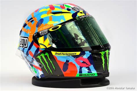 rossi helmet design 2016 the stories behind valentino rossi s wild helmets moto 365