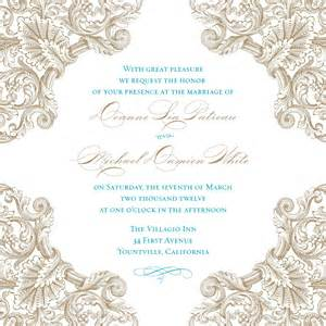 invitation templates vintage bridal shower invitations template best template