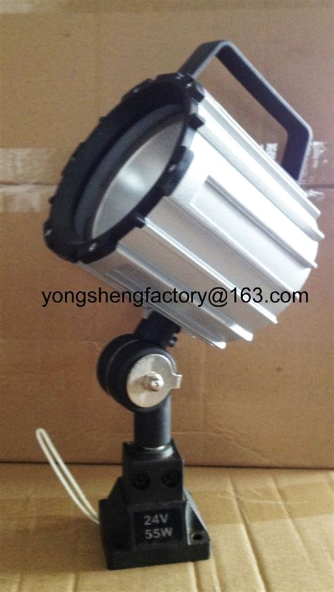 industrial halogen light fixtures 24v 220v aluminum short arm halogen machine l light
