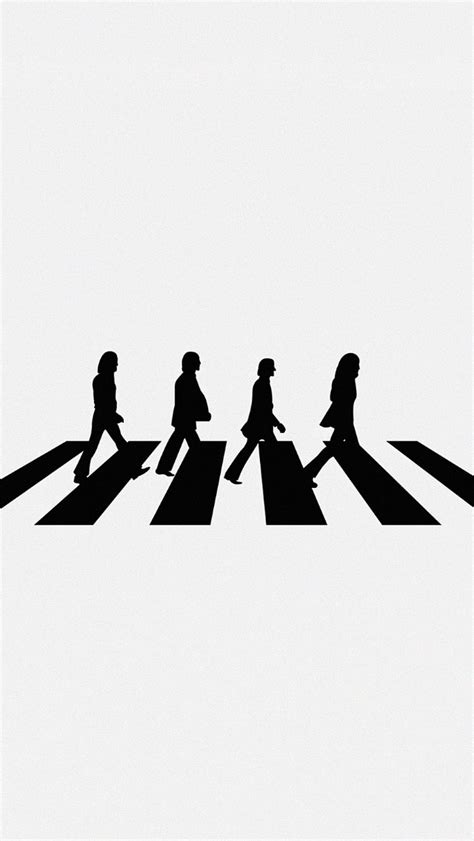 wallpaper iphone 5 the beatles freeios7 beatles abbey road w parallax hd iphone ipad