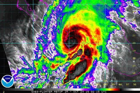 imagenes satelitales huracan patricia en vivo as 237 ha sido el hurac 225 n patricia que recorrido m 233 xico
