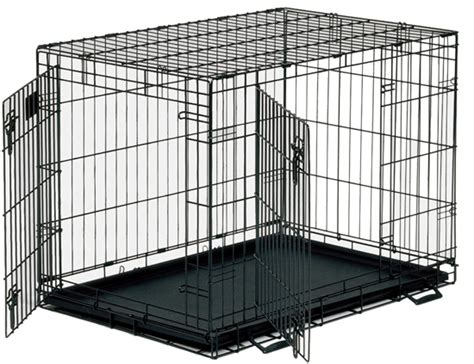 crate puppies collapsible metal crate with doors bowhouse simply the best