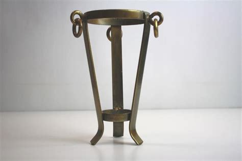 Vase Stand by Large Brass Vase Stand Or Holder For A Sphere Egg Globe Or