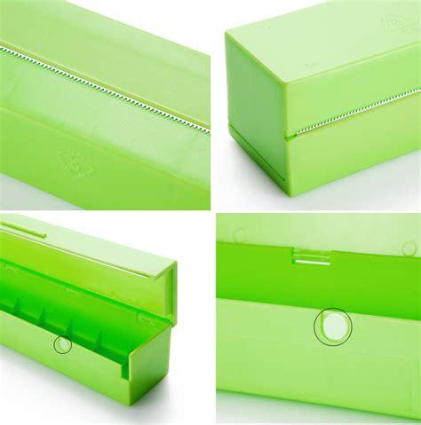 Alat Pemotong Plastik Beli jual kotak penyimpanan dan pemotong plastik pembungkus kemasan makanan wrap toko jempol