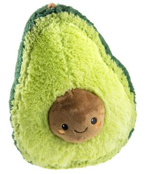 Strange Home Decor Comfort Food Squishables Avocado Super Sized Super