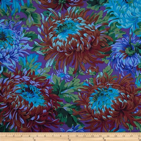 kaffe fassett home decor fabric kaffe fassett shaggy blue discount designer fabric