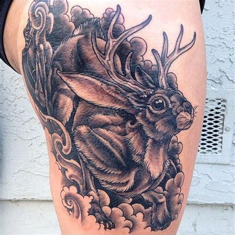 jackalope tattoo portland jackalope search ink